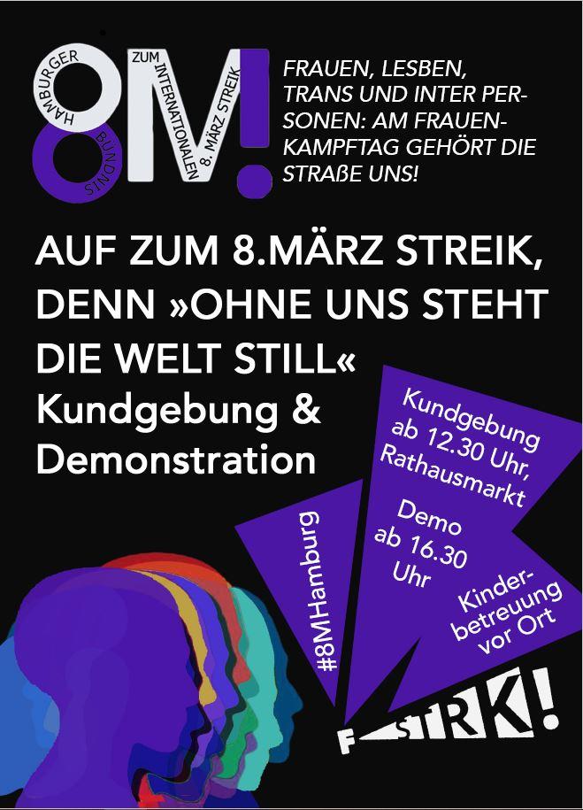Podcast: 8M – Wir streiken am 8. März!